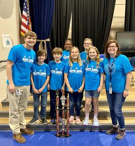 Riverbank's math team