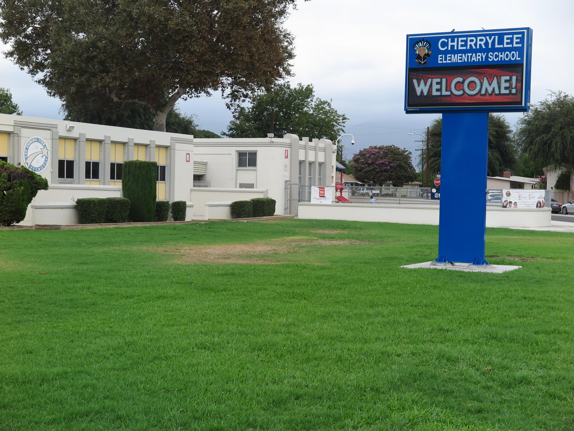 front of Cherrylee School
