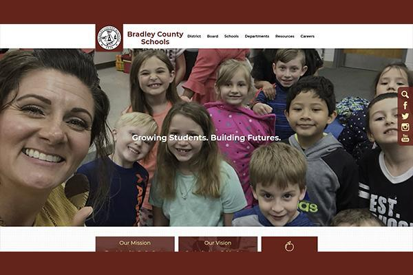 Bradley County Schools new website