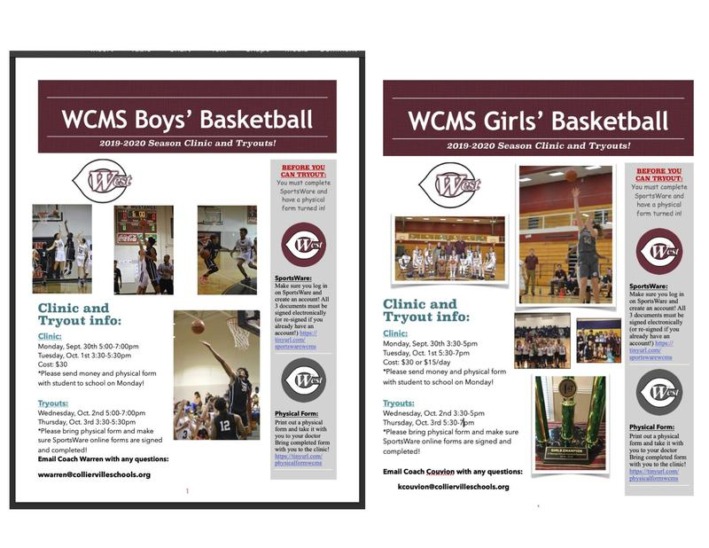 Boys and Girls Basketball Tryouts -- NEW DATES!!! Featured Photo