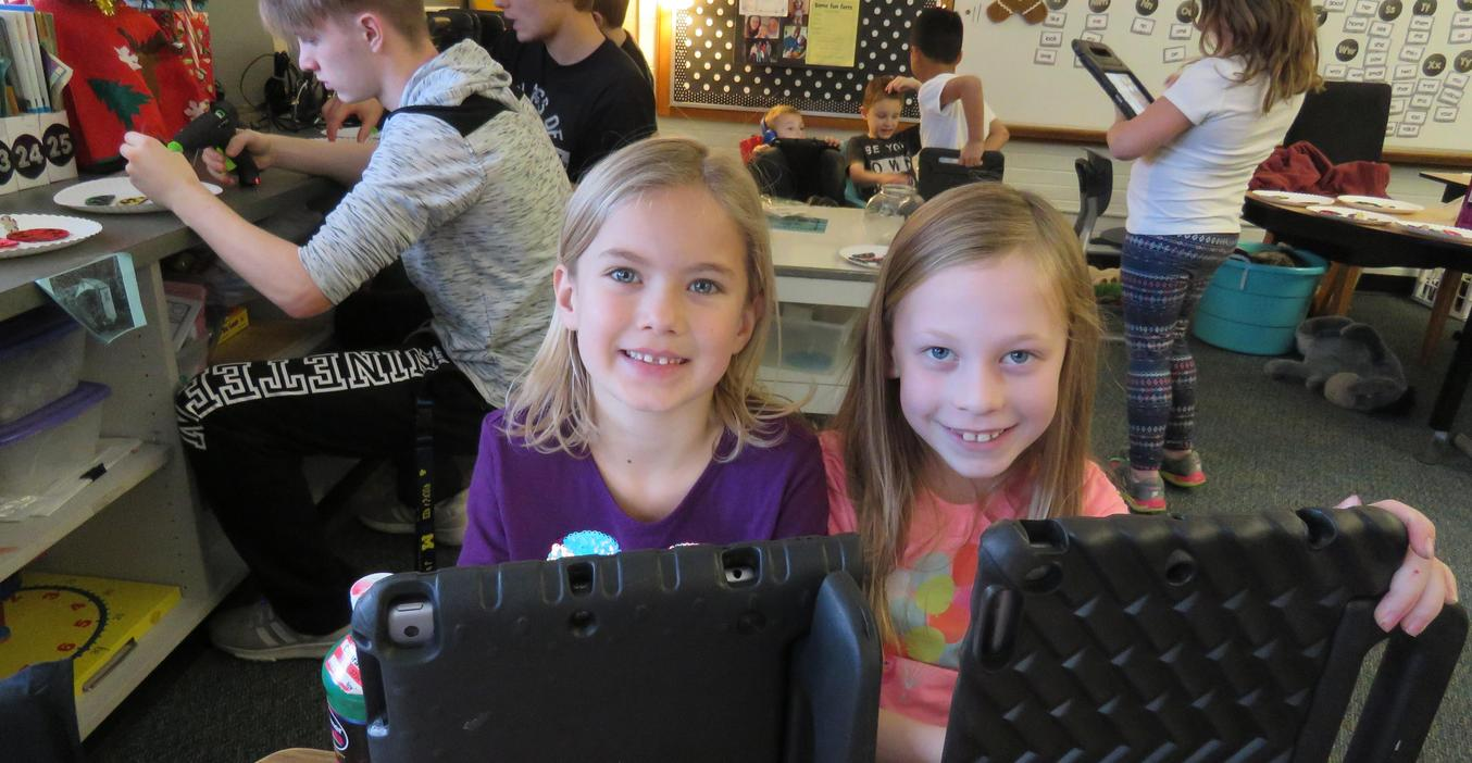 Technology is in the hands of all students at McFall.