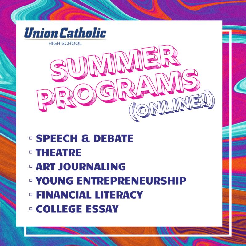 Union Catholic Has Announced Its Summer Programs Thumbnail Image
