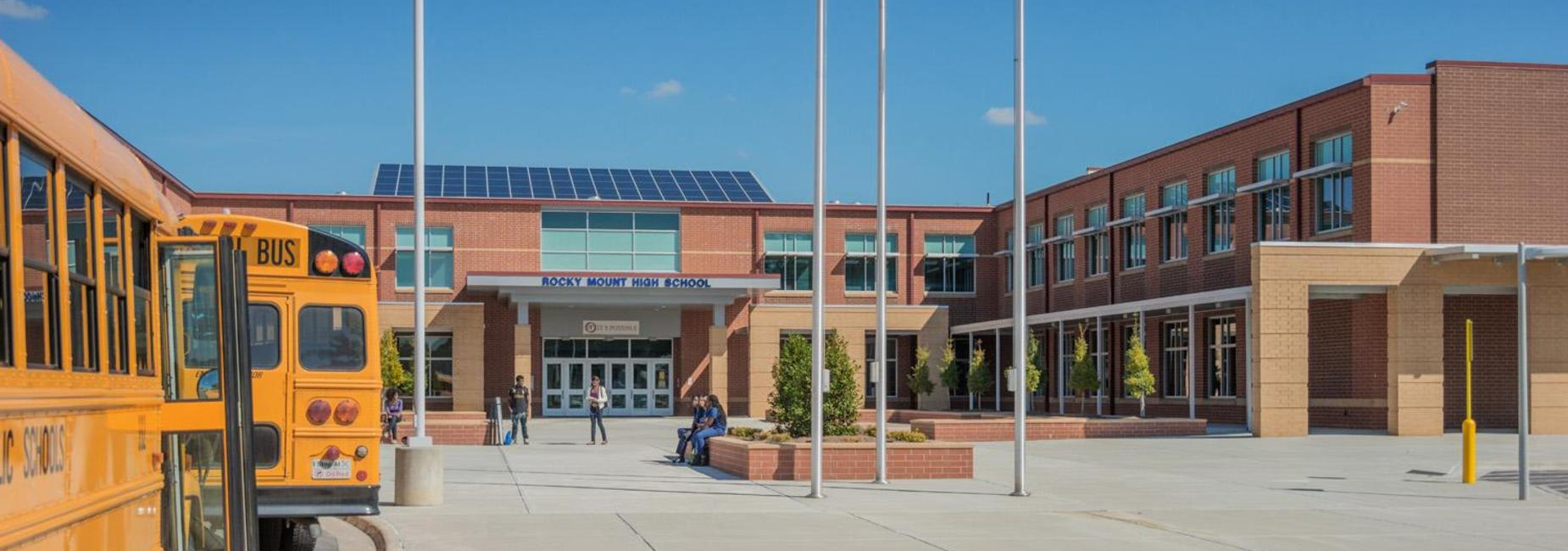 RMHS Entry Plaza