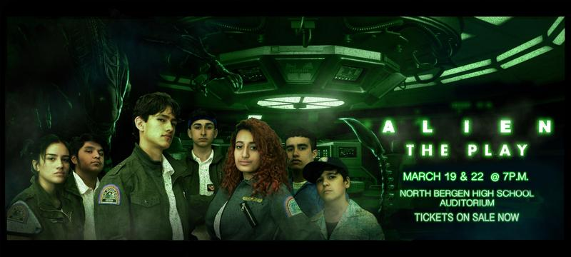Aliens the Play poster