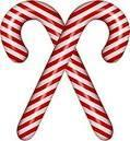 picture of two candy canes