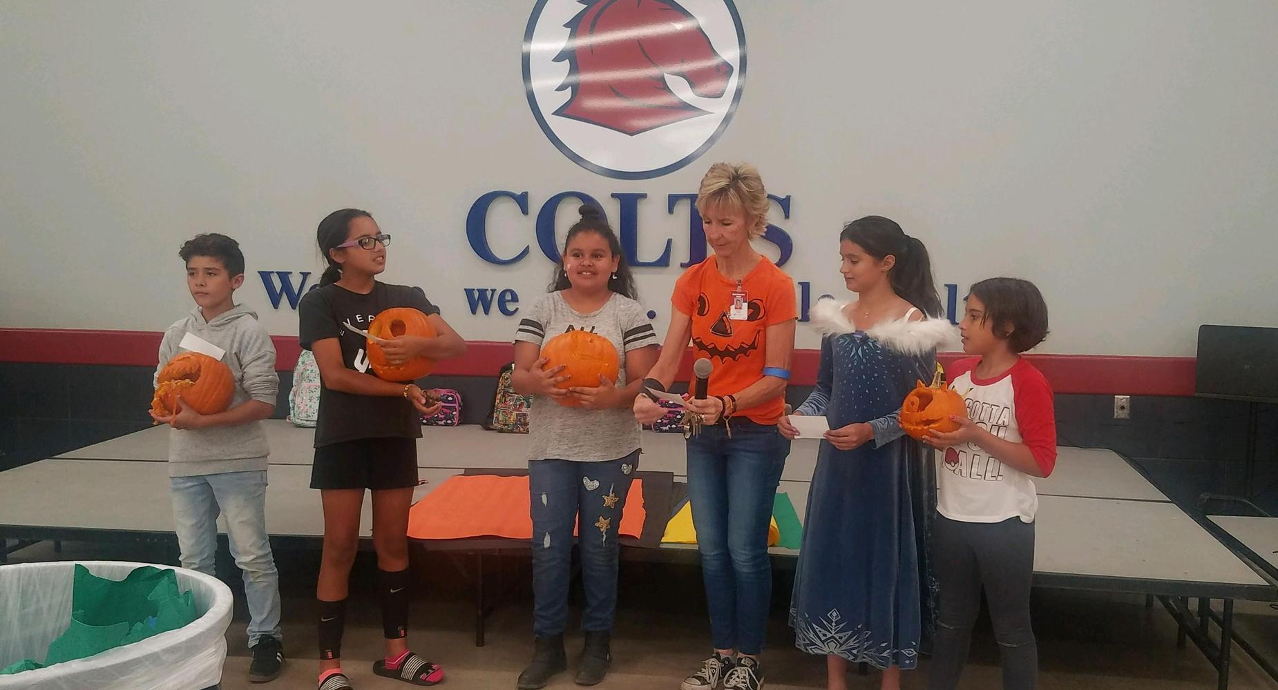 Pumpkin Winners