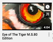 Eye of the Tiger video cover