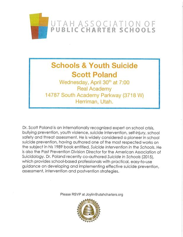 Suicide Prevention Seminar Flyer