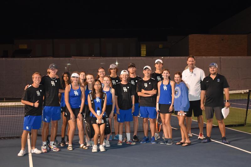 Win Puts Varsity Tennis In The Playoffs