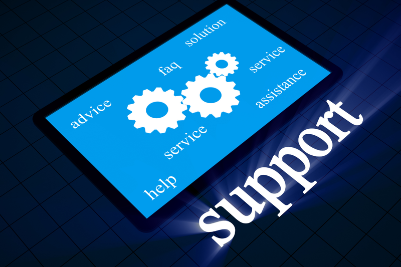 Technology support with distance learning platforms Featured Photo