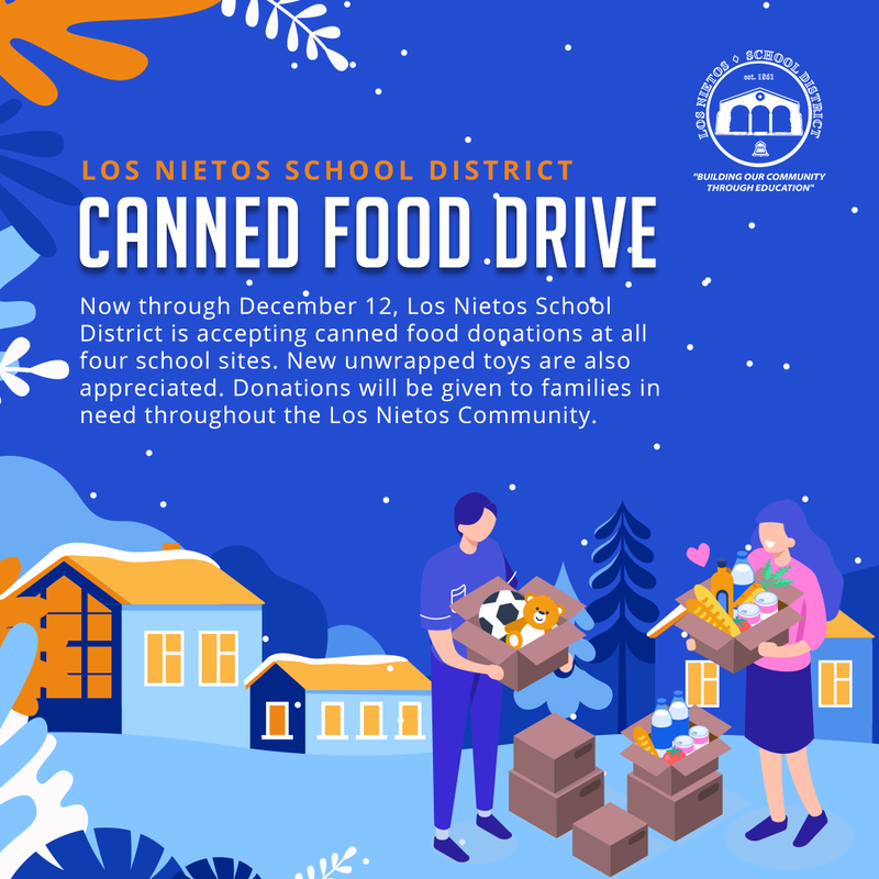 Los Nietos SD Canned Food Drive Featured Photo