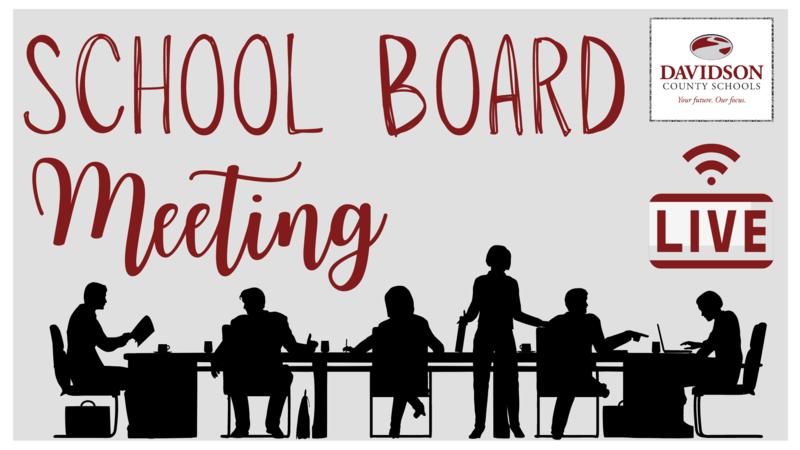 School Board Meeting LIVE