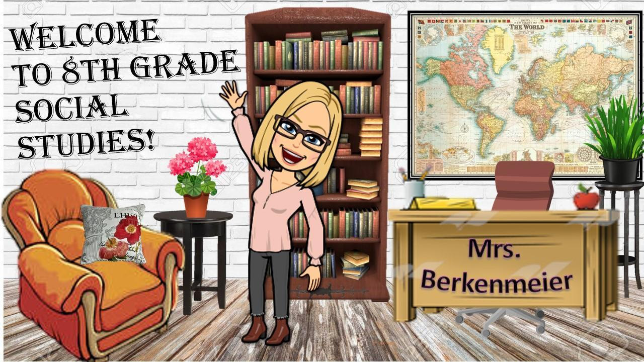 Mrs. Berkenmeier welcome page