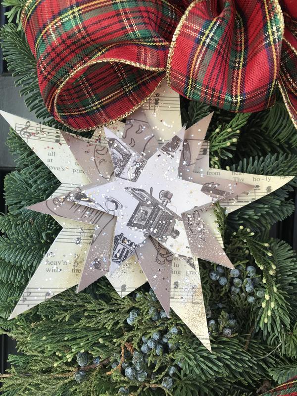 Artsy wreath