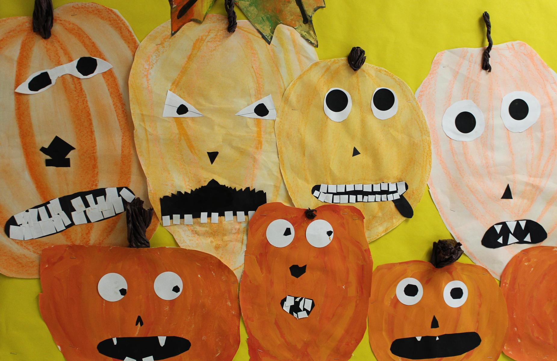 Student Pumpkin Drawings