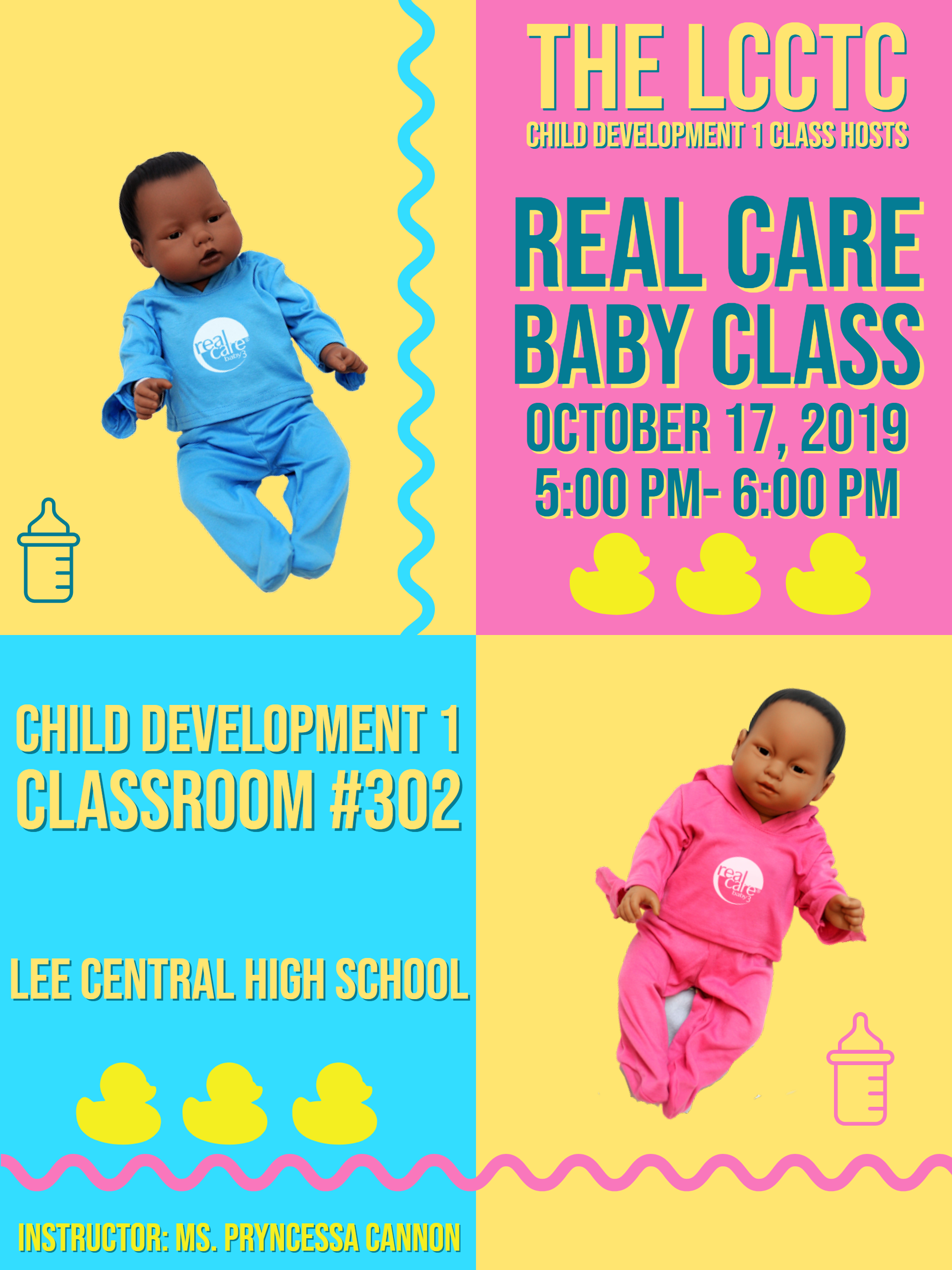 real care baby flyer