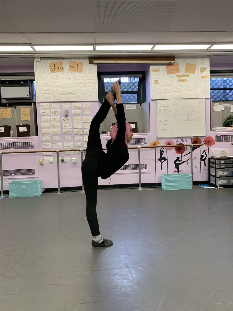 Fine Arts - Dance - Photo - Practice