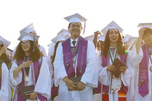Vista Del Lago Top Scholars at graduation