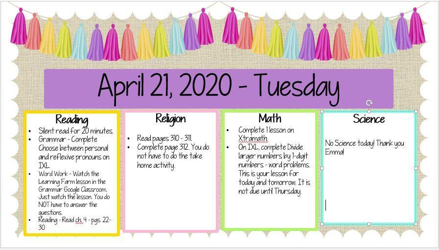 April 21, 2020