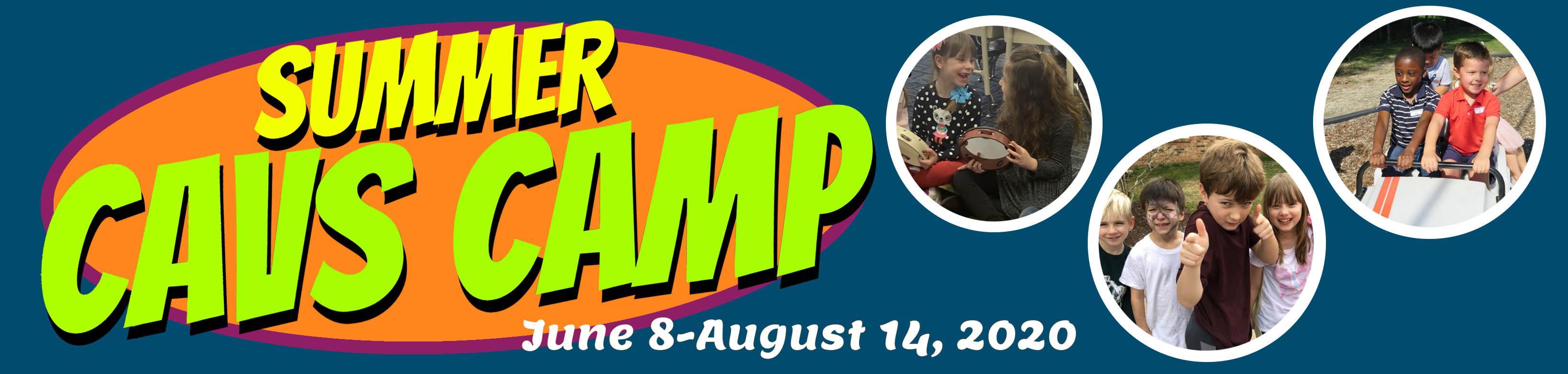 Summer Cavs Camp Banner