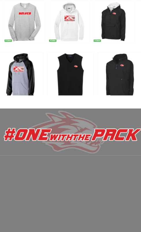 picture of wolves apparel