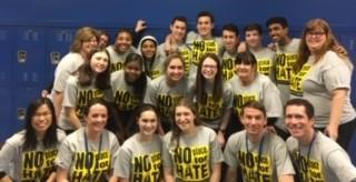 Group photo with NPFH shirts