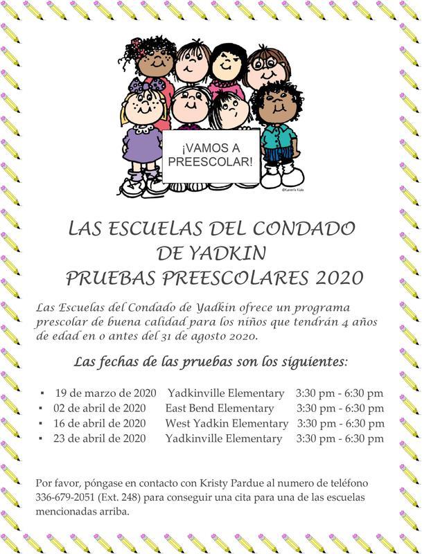 PreK Screening Flyer 2020 - Spanish.jpg
