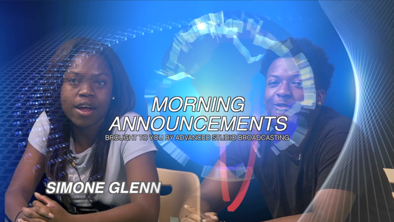 morning announcement