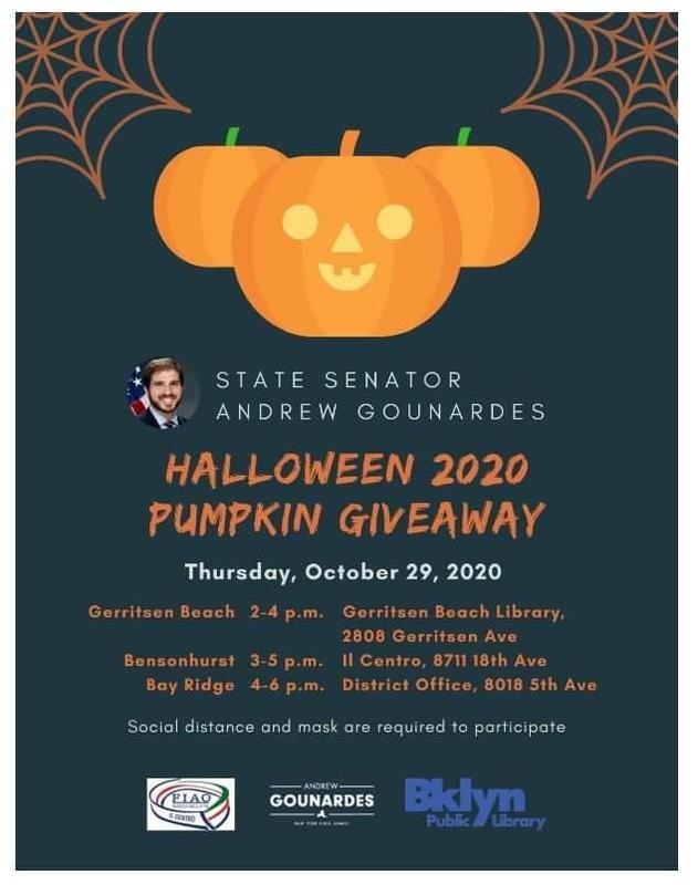 pumpkin giveaway flyer