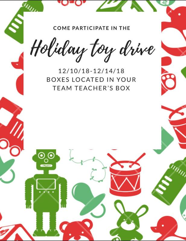 Holiday Toy Drive Featured Photo