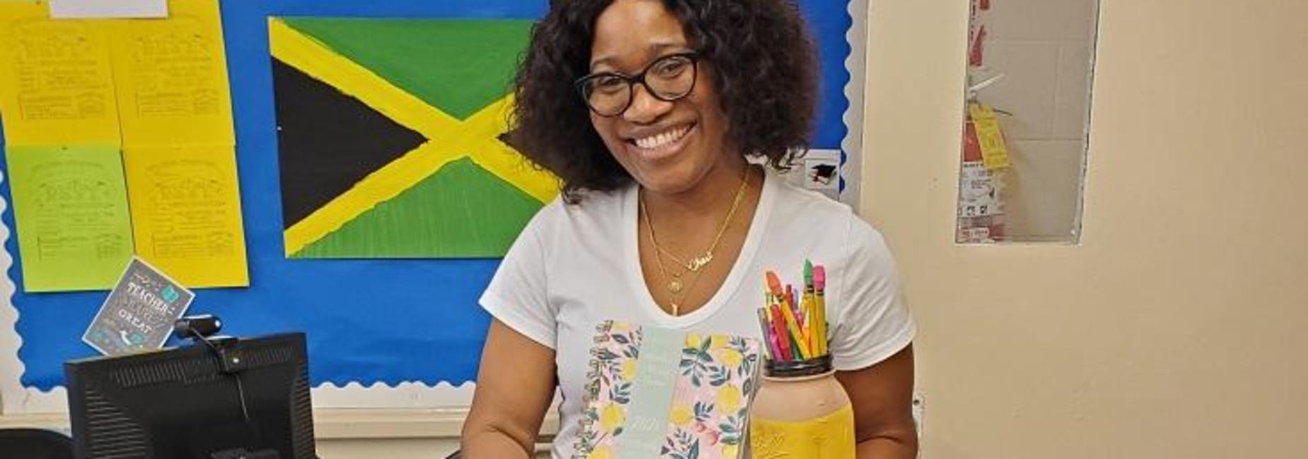 Teacher Appreciation Daily Winner - Ms. Hutchinson
