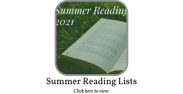 Summer Reading Lists 2021 Graphic