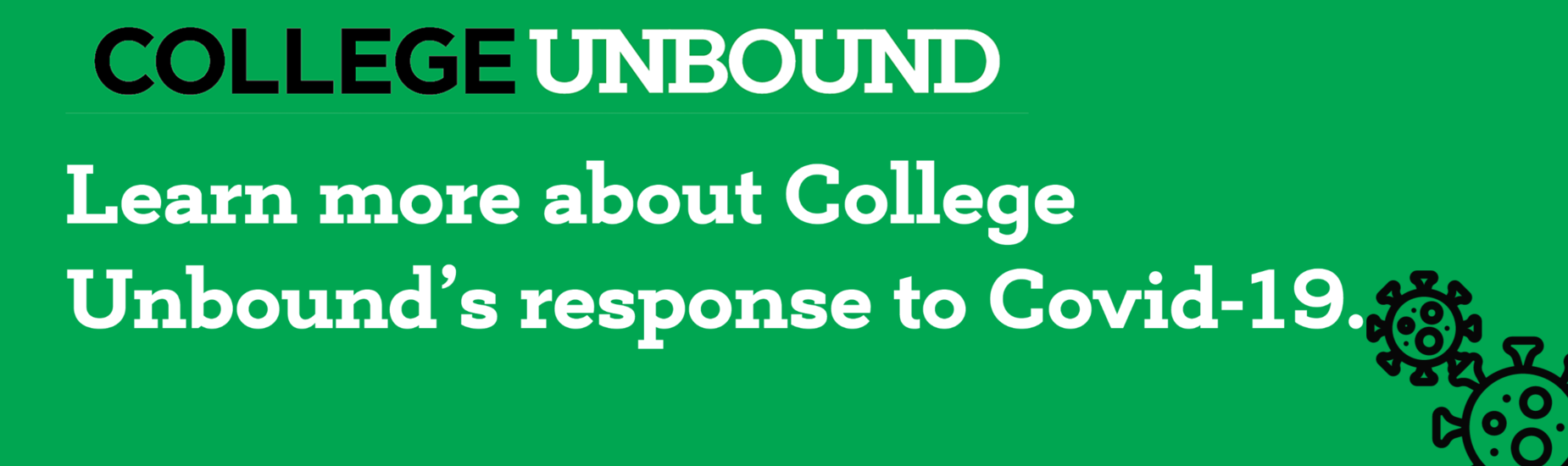 Learn more about College Unbound's response to COVID-19