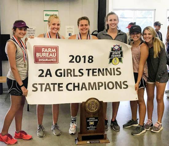 Riverside Girls 2018 State Tennis Champs! Featured Photo