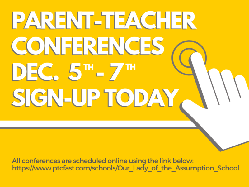 Schedule Your Parent Teacher Conference Today! Thumbnail Image