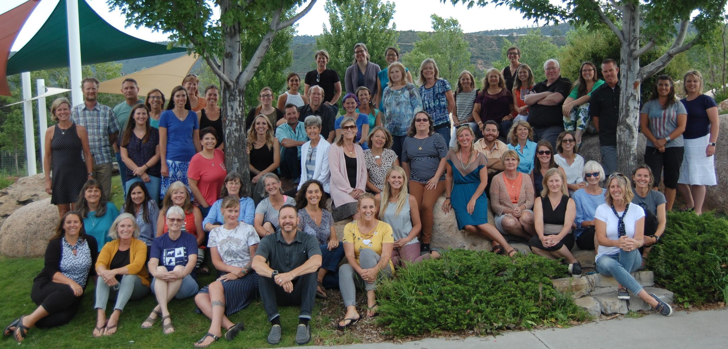 Photo of staff of San Juan Boces