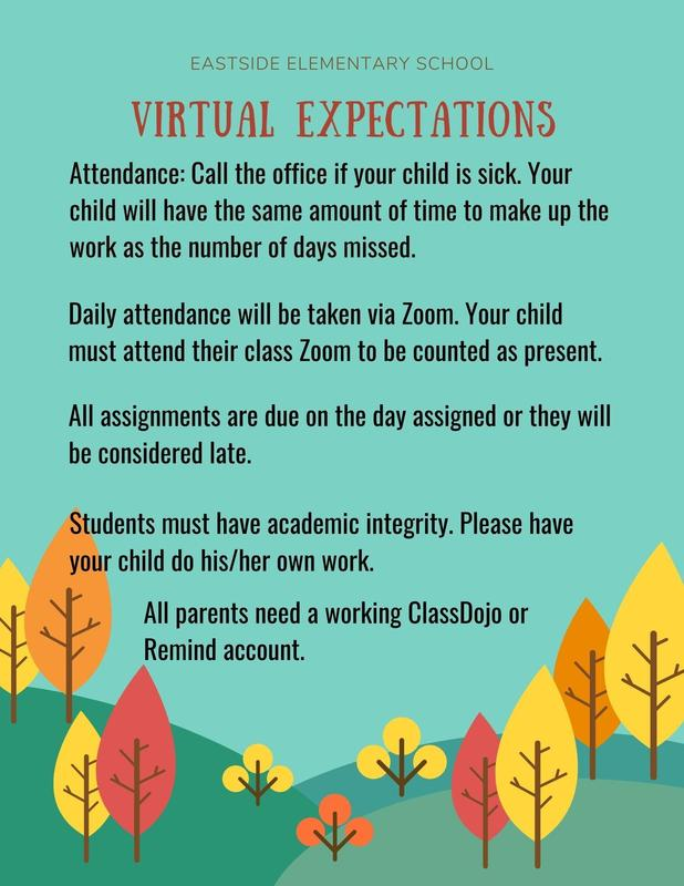 Expectations for all virtual students at E2