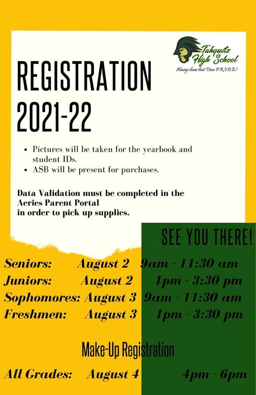 THS Registration