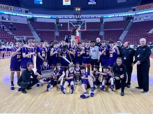 OLSH chargers basketball state champions