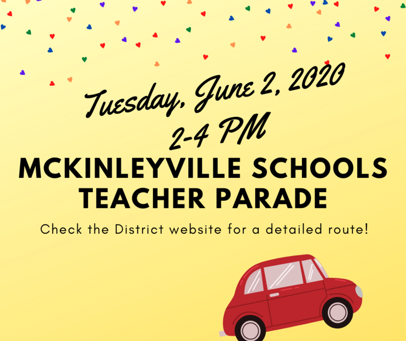 Teacher Parade June 2, 2020