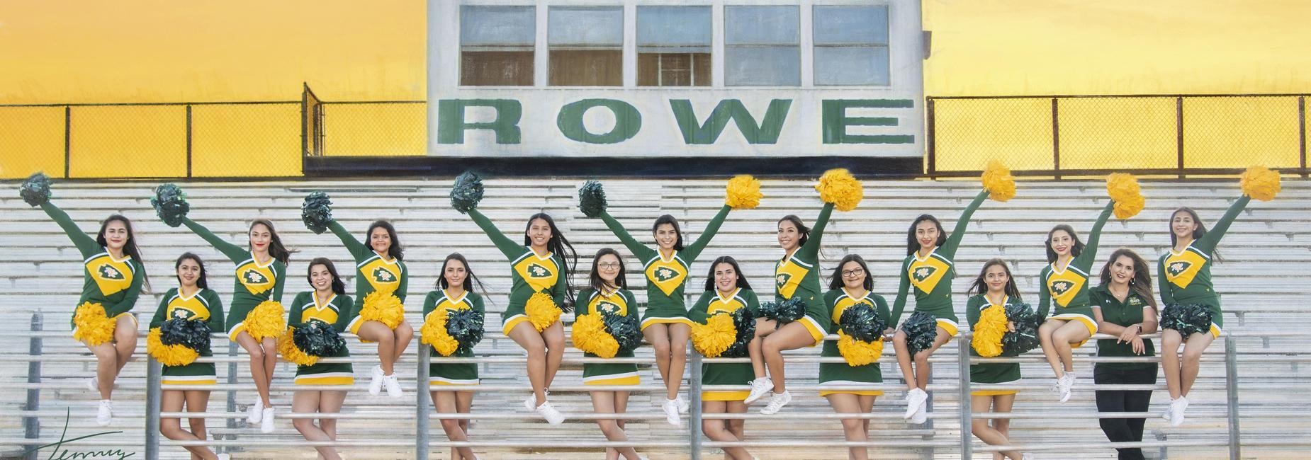 2019-2020 Junior Varsity Cheer Team