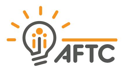 AFTC (lightbulb) logo