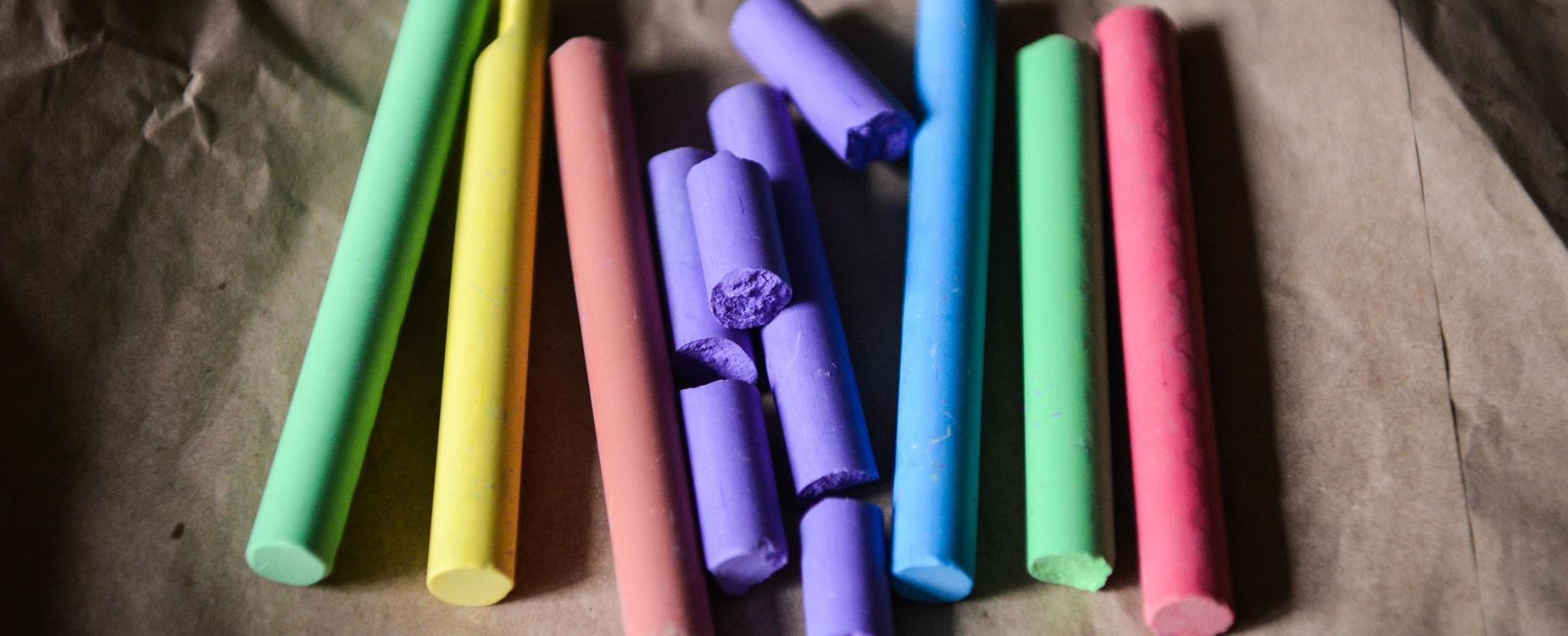 Color chalks