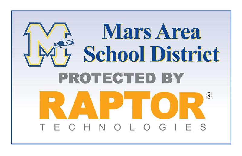 Mars Area School District protected by Raptor Technologies