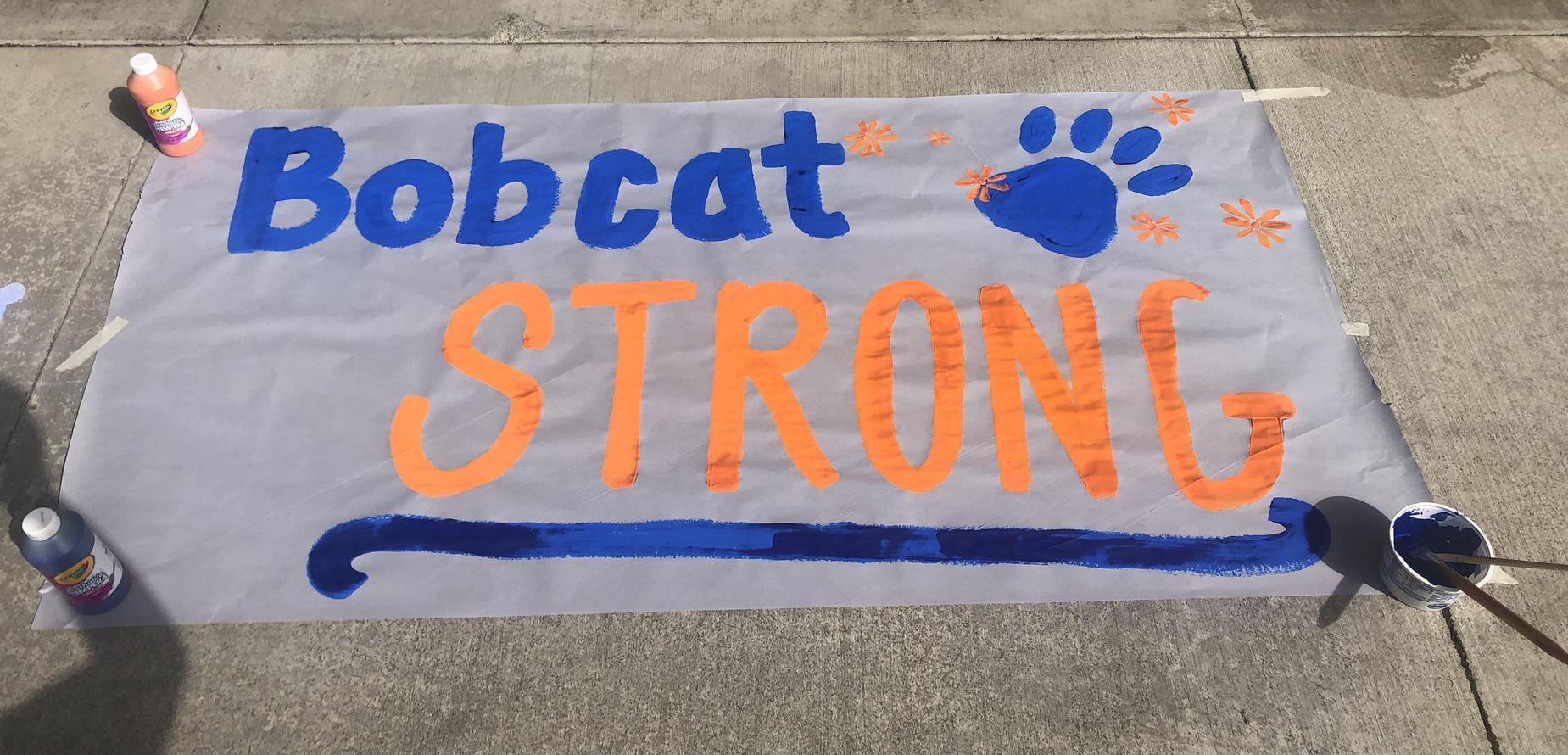 Bobcat Strong Poster