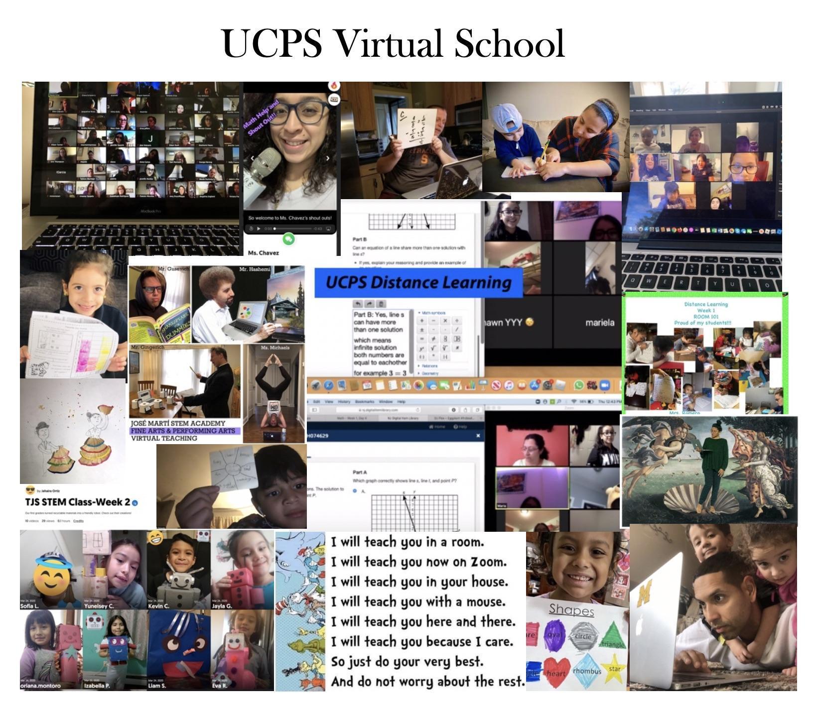 UC Virtual School Collage