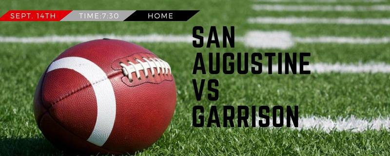 Football annoucement against Garrison