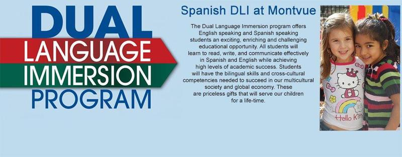 Montvue is a Dual Language Immersion School – Spanish & English! #ProudToBePUSD