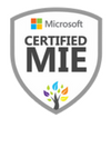 MIE badge