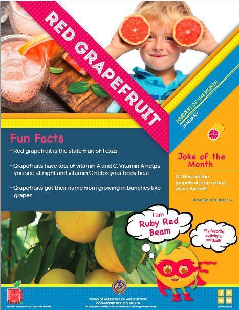 Monthly Harvest Grapefruit